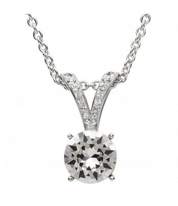 Sterling Silver Swarovski Necklace - Shanore ST19