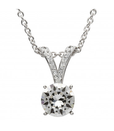 Sterling Silver Swarovski Necklace - Shanore ST19